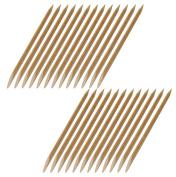 NAILFUN 25 Beechwood Cuticle Sticks 120 mm