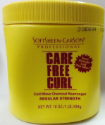 Softsheen Carson Care Free Curl Cold Wave Chemical Rearranger Regular Strength Creme Relaxer 454g