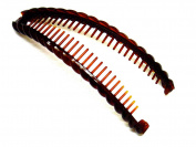 La Peach Fashions Ladies Classic Large Barley Twist Banana Hair Comb Large Hair Clip Size 16cm