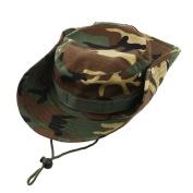 WINOMO Fashion Unisex Adult Outdoor Sports Wide Brim Boonie Hat Cap Fishing Hat - Free Size