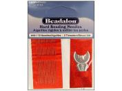 Beadalon Beading Needle Hard Size 10 12pc