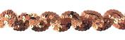 "Trimplace Bronze 2.5cm Sequin ""S"" Trim- 12 Yards"