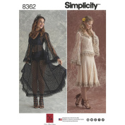 Simplicity 8362 Misses' Lace Blouse and Skirt Size14-22 SEWING PATTERN