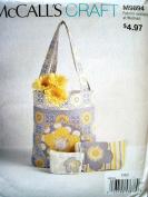 McCalls Craft Pattern 9894 Misses Flower Bags & Cases