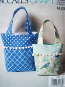 McCalls Craft Pattern 9885 Misses All Occasions Hand Bags