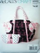 McCalls Craft Pattern 9865 Misses Maxi & Mini Bags