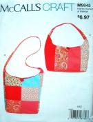 McCalls Craft Pattern 9845 Misses Bags
