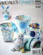 McCalls Craft Pattern 9887 Baby's Bunny and Stacking Cups