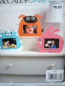 McCalls Craft Pattern 9893 Animal Picture Frames