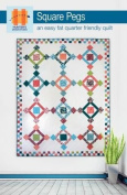 Hunter's Design Studio Square Pegs Quilt Pattern