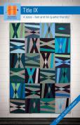 Hunter's Design Studio Title IX Quilt Pattern