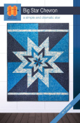 Hunter's Design Studio Big Star Chevron Quilt Pattern