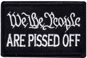 We The People Are Pissed Off Morale Hook Patch