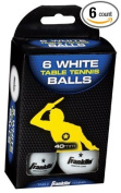 Franklin Sports Industry 57113 Table Tennis Balls, 1-Star, White, 6-Pk.