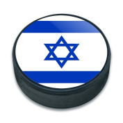 Ice Hockey Puck Country National Flag C-I