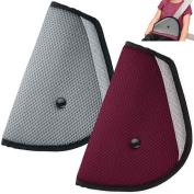 Kids Seatbelt Adjuster Set of 2, maxin Child Seat Belt Safter Covers -