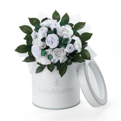 Babyblooms Luxury Rose Bouquet, White