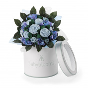 Babyblooms Luxury Rose Bouquet, Blue