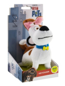 The Secret Life Of Pets - Soft Plush Toy Keychain Keyclip in Gift Box - Max the Jack Russel Dog