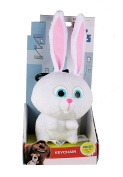 The Secret Life Of Pets - Soft Plush Toy Keychain Keyclip in Gift Box - Snowball the Rabbit