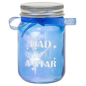 LED Light Up Bottle Gift For Dad - Dad you're a Star