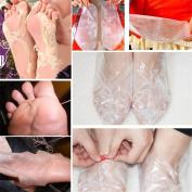 Ec Best ORGANIC Exfoliating Peel Foot Mask Baby Soft Feet Remove Callus Hard Dead Skin