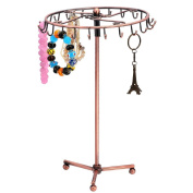 TFXWERWS Perfect Jewellery Hanger Holder Rotate Display Stand