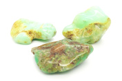 tanglz Chrysophrase Stones Stone Natural Stone Rolled, to the Sacred Heart Chakra, Chakra 3 2x . WITH TRACKING