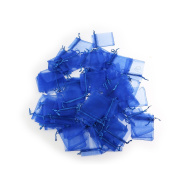 WINOMO Elegant Organza Drawstring Gift Bags Wedding Party Favour Bags Jewellery Pouches 7x9cm -100 Pieces