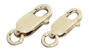 Hobra/Gold Lobster Replacement Part 585 Gold Chain with Lobster Claw Clasp 2 Sizes Yellow Gold