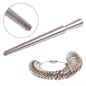 MultiWare Ring Sizer Mandrel Finger Gauge US/EU Standard Size Men/Women