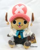 One Piece Film Gold Ver, White Tony Chopper Authentic Stuffed Plush Doll 25cm