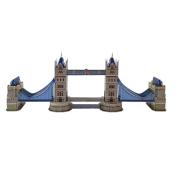 Creative 3D Puzzle Paper Model London Tower Bridge DIY Fun & Educational Toys World Great Architecture Series, 41 Pcs