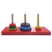 Puzzle Toy, Brain Traing Tower of Hanoi Wood