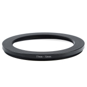 Cammate Step Down Ring 77-72mm Stepping Down Adapter Filter Ring for 77mm Lens SLR & DSLR Camera