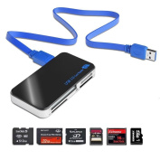 USB 3.0 Super Speed Card Reader Compact Flash / Microdrive / SD / SDHC / Micro SD / CF / MS / MS Pro / MS Pro for Duo / XD card