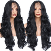 Vanessa Queen Synthetic Lace Front Wig for Women Natural Body Wave Long Wigs Heat Resistant 70cm