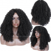 Vanessa Queen Long Kinky Curly Hair Synthetic Wig Full Machine Made None Lace Wigs 50cm