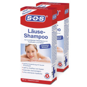 SOS Lice Shampoo (Pack of 2) – Reliable of Head Lice and Nits