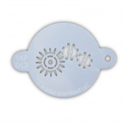 TAP 013 Face Painting Stencil - Robotic Gears