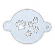 TAP 023 Face Painting Stencil - Paw Prints