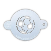 TAP 020 Face Painting Stencil - Soccer Ball
