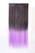 MZP Colour hair piece to pick a piece of no trace gradient hair piece hairpin hair piece hair straight hair , 4