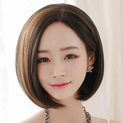 MZP In the sub-wigs handsome handsome BOBO head short hair wigs in the pear head fluffy face repair
