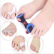 Meijunter Toes Bunion Relief Corrector Protector Sleeves Kit Treat Pain In Hallux Valgus