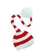 Foopp Baby Infant Handmade Knit Crochet Warm Hat Christmas Photopraphy Prop