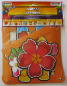 Hawaiian Luau Party Jointed Banner Decoration