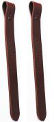 Horse 43cm Western Saddle Off Billet Latigo Leather Cinch Tie Strap (2 PCS) 40413