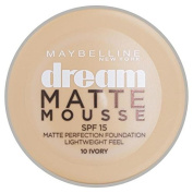 Maybelline Dream Matte Mousse Foundation – Ivory 10 18ml