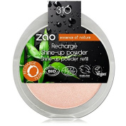 Zao Refill Shine Up Powder Bio 310 Pink Champagne Lustre Powder Refill Beige Pink (Vegan) Highlighter 111310